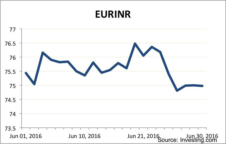 Euro Monthly Market Summary